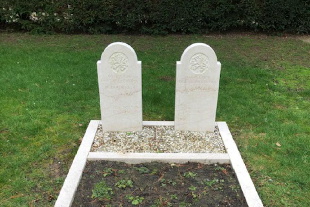 Dutch War Graves Old Municipal Cemetery Wierden