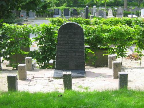 Gedenksteen Ir. Jacobus Oosterhoff Noorder Begraafplaats Leeuwarden