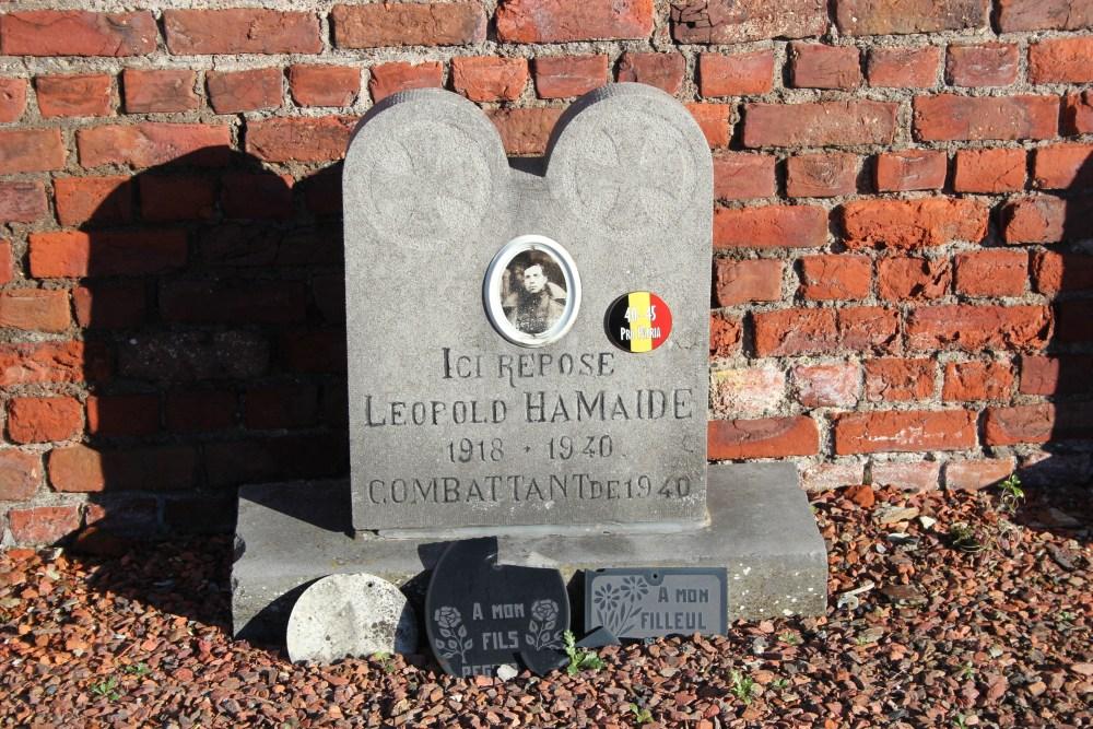 Belgische Oorlogsgraven Rebecq-Rognon