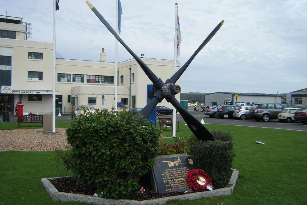 Monument Vliegtuigpropeller B-26 Marauder
