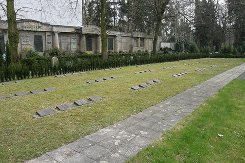 Duitse Oorlogsgraven Friedhof Wilmersdorf