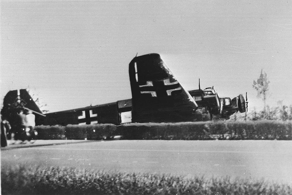 Crashlocatie Junkers Ju 52