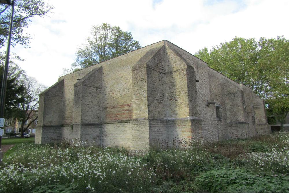 Westentower of Sint Walburgachurch Veurne
