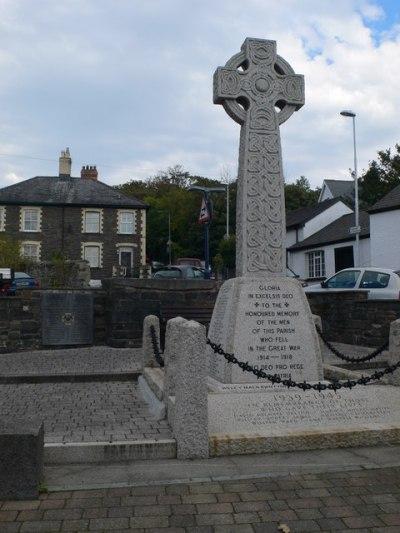War Memorial Llanbadarn Fawr