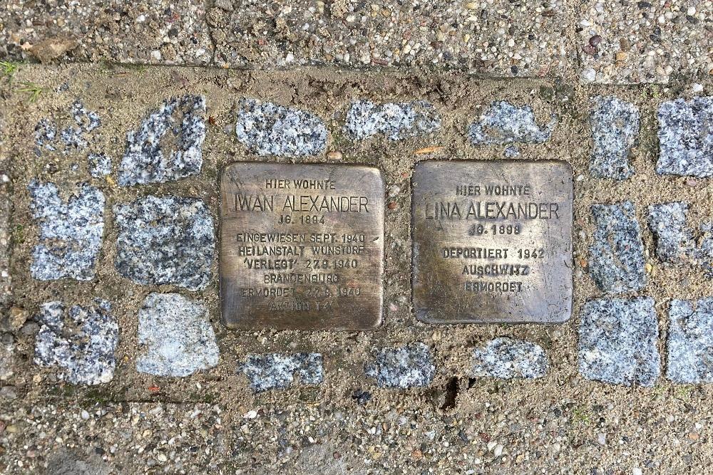 Stumbling Stone Gymnasialstraße 11