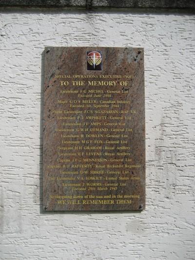 S.O.E. Memorial