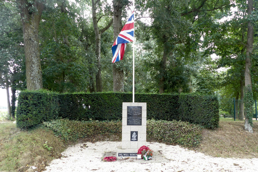 Monument Royal Ulster Rifles