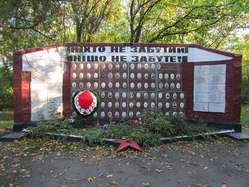 Mass Grave russian Soldiers & War Memorial 1944