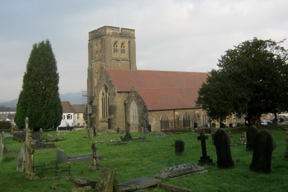 Brits Oorlogsgraf St. Martin's Churchyard