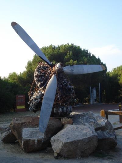 Monumenten Crash B-24 Liberator 41-29412
