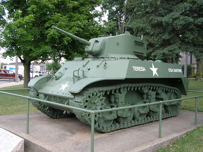 M3A3 Stuart Tank