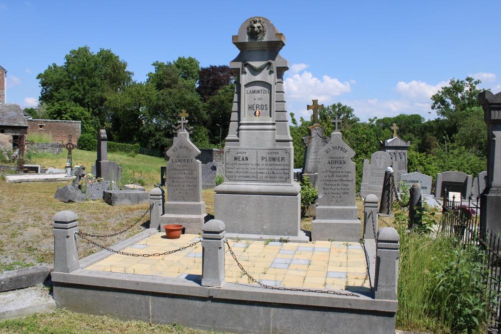 Belgische Oorlogsgraven Lamontzée