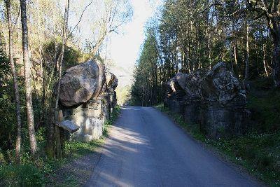 Tankversperring Fort Fjell