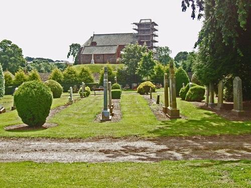 Oorlogsgraven van het Gemenebest St. Vigeans New Cemetery