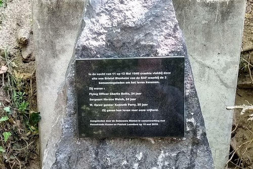 Monument Britse Piloten Kanne