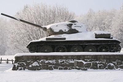 T-34/85 Tank Vyšný Komárnik