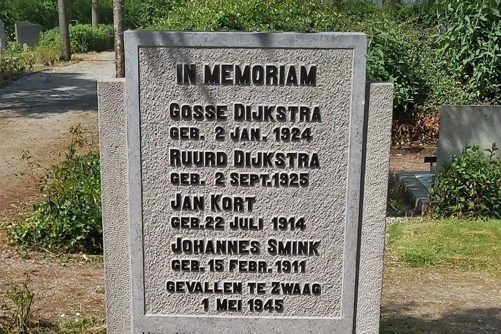 Monument Ooster Begraafplaats Andijk