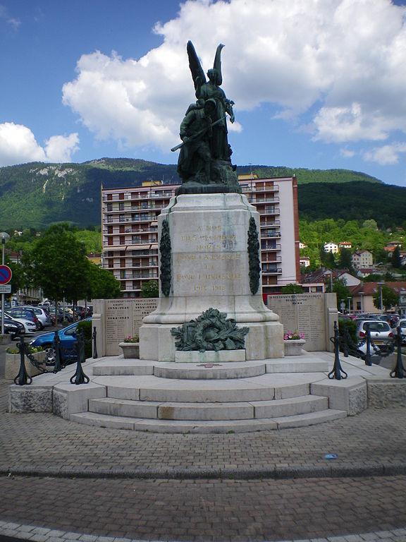 War Memorial Bellegarde-sur-Valserine