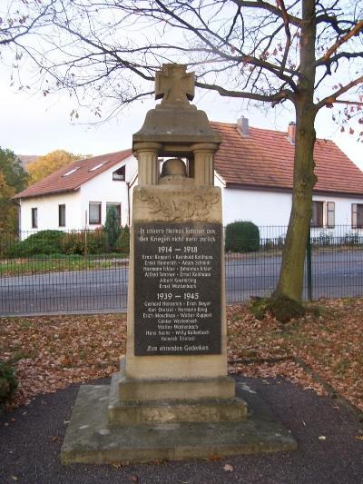 Oorlogsmonument Pferdsdorf-Spichra