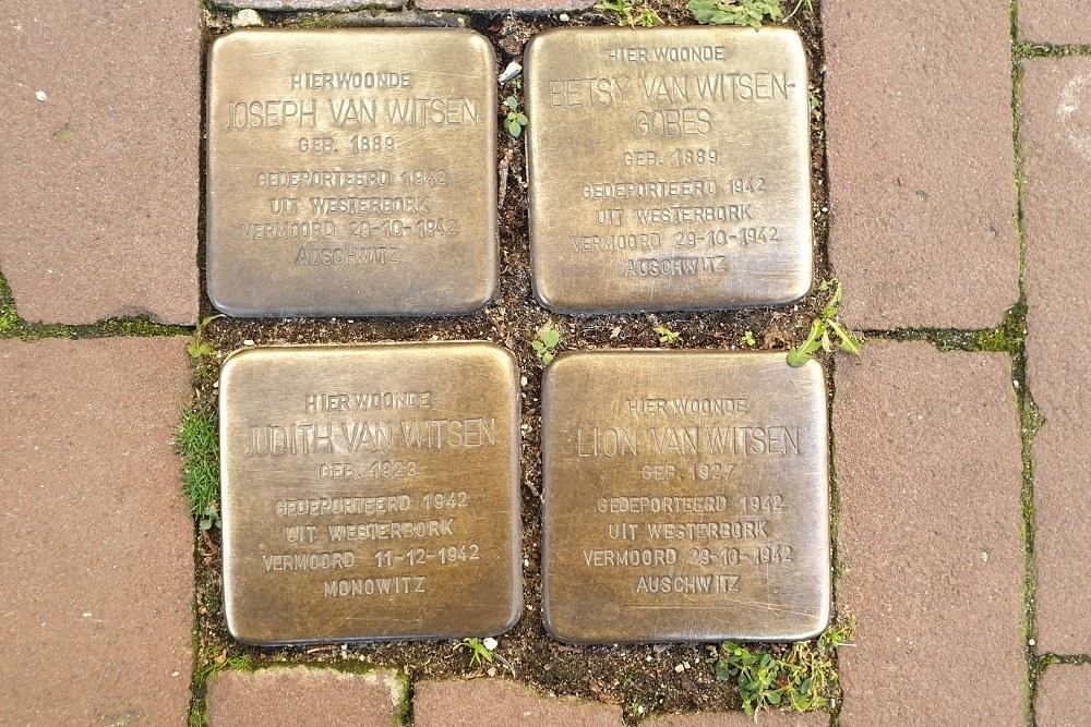 Stumbling Stones Nieuwe Uilenburgerstraat 70