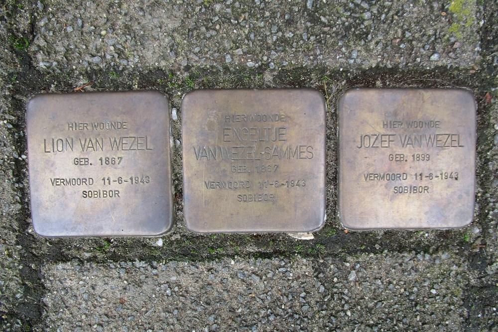 Remembrance Stones Pieter Lastmankade 160