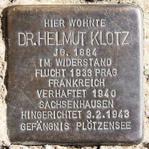 Stumbling Stone Manfred-von-Richthofen-Straße 221
