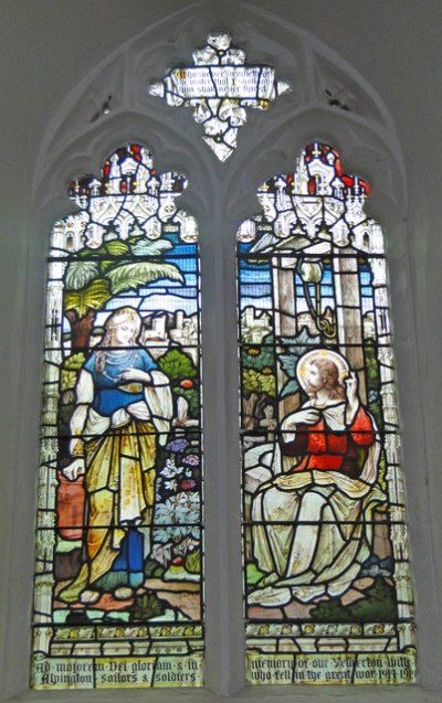 War Memorial Window St. Mary Church