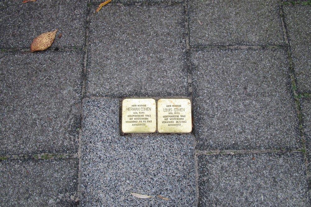 Stumbling Stones Maarten Dijkshoonlaan 36