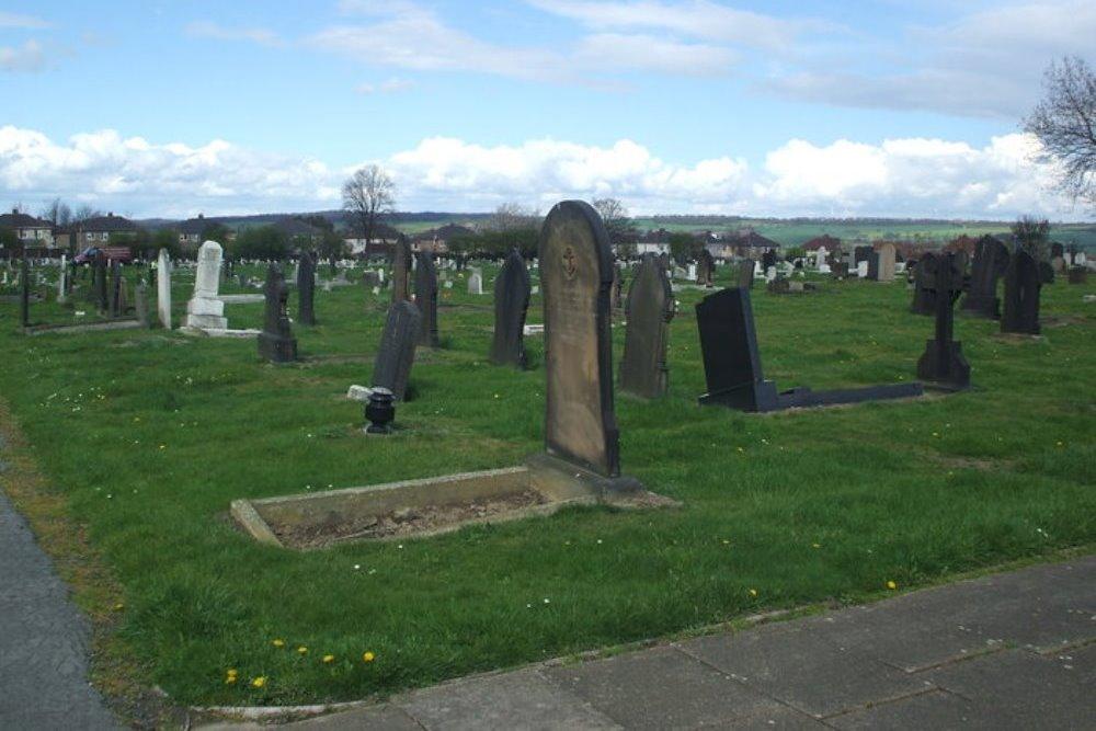 Commonwealth War Graves Mexborough Cemetery