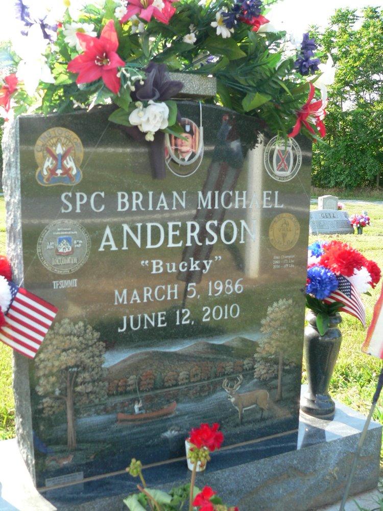 Amerikaans Oorlogsgraf Linville Creek Church of the Brethren Cemetery