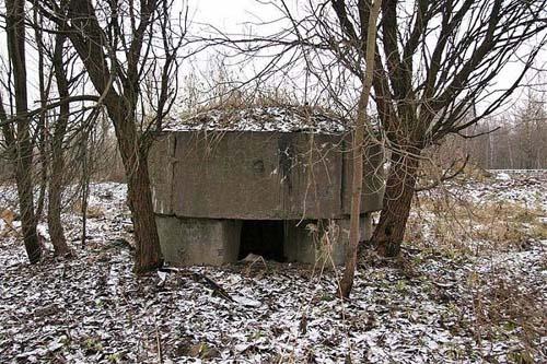 Russian Pillbox Preobrazhenskoe