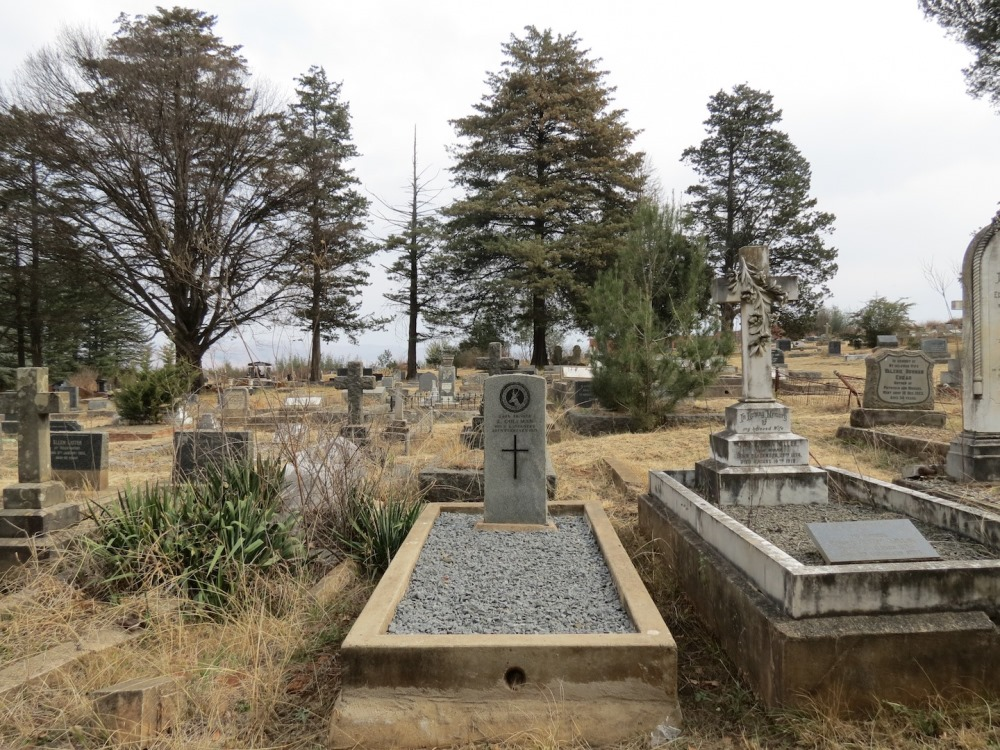 Commonwealth War Graves Kokstad Cemetery