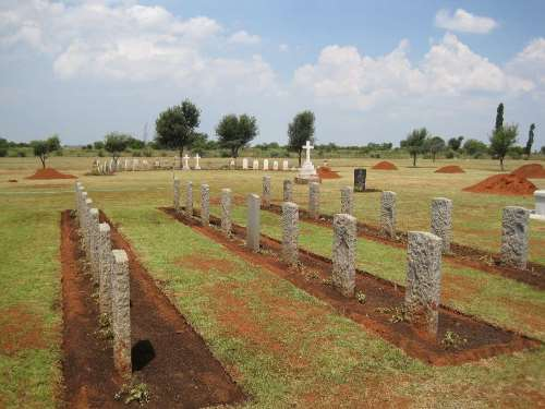 Commonwealth War Graves Potchefstroom Military Cemetery