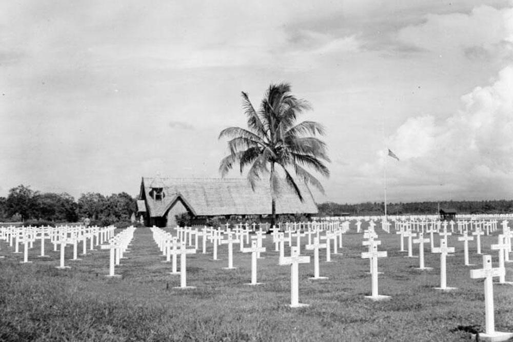 Locatie Voormalige Amerikaanse Oorlogsbegraafplaats Guadalcanal