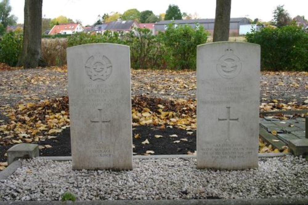 Oorlogsgraven van het Gemenebest Gemeentelijke Begraafplaats Bad Nieuweschans