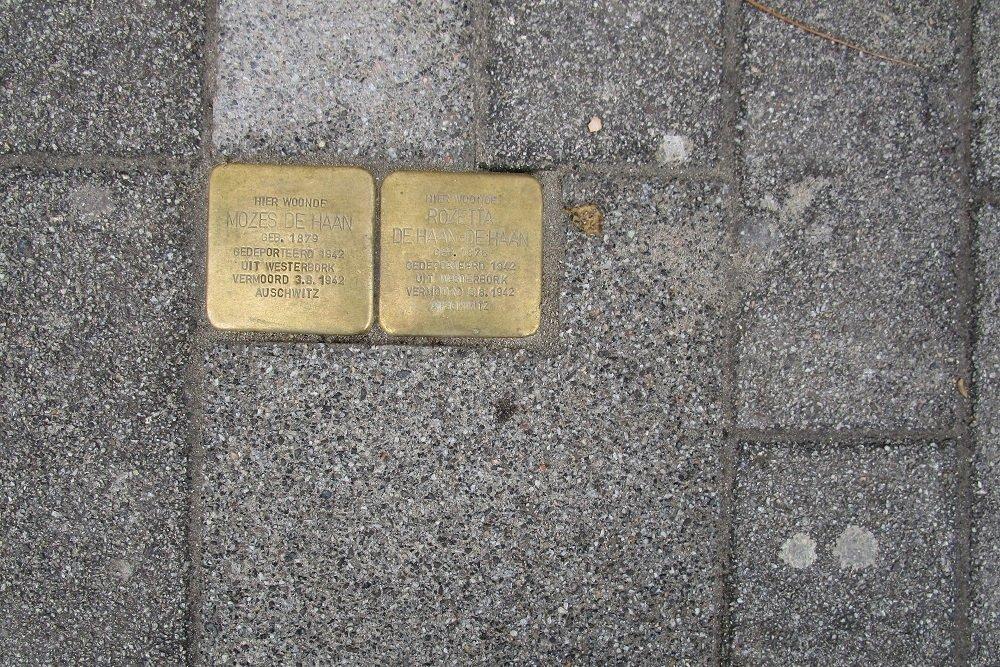 Stumbling Stones Nieuwe Binnenweg 197B
