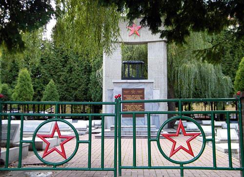 Soviet War Cemetery Opole