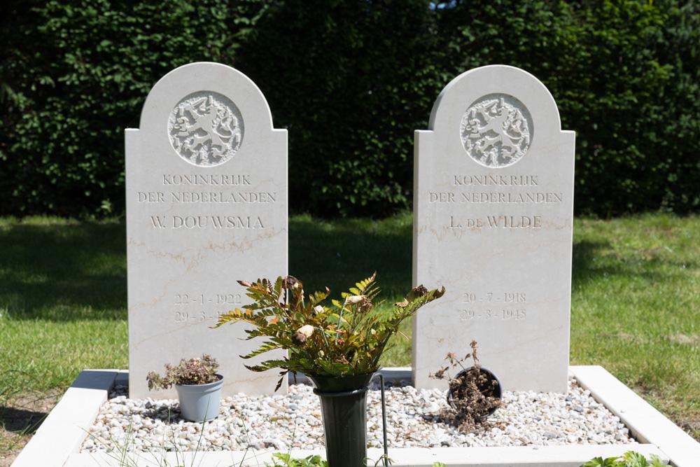 Nederlandse Oorlogsgraven Oude Gemeentelijke Begraafplaats Wierden