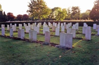 Commonwealth War Graves St. Albans Cemetery