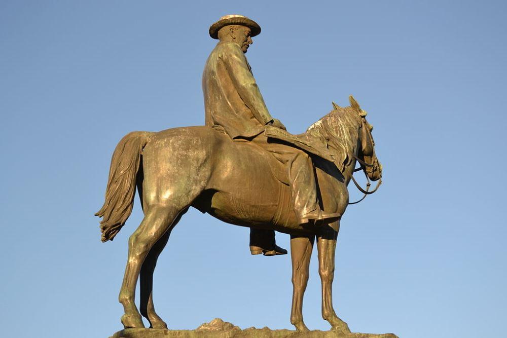 Standbeeld van Cecil John Rhodes
