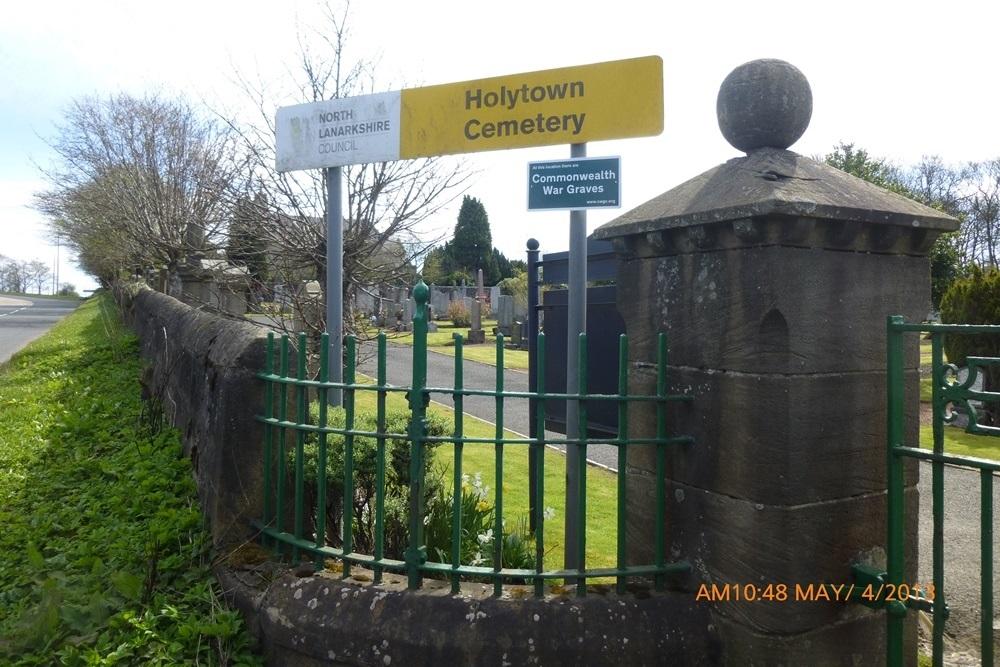 Commonwealth War Graves Holytown Cemetery