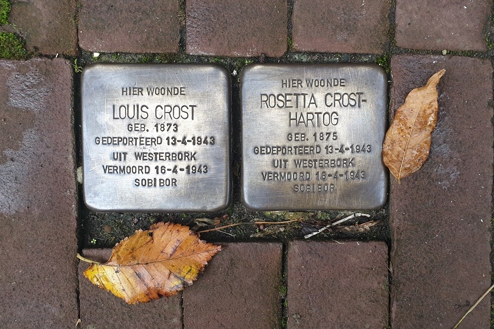 Stumbling Stones Maarten Janszoon Kosterstraat 11