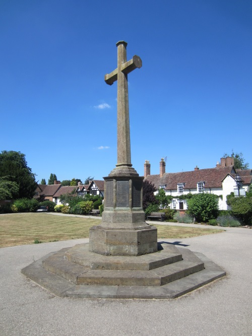 War Memorial Stratford-upon-Avon WW1 & Flag Pole End of WW2