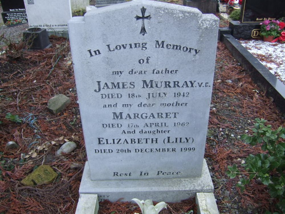 Grave of James Murray VC