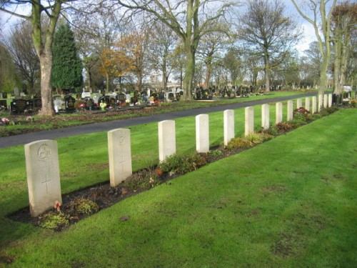 Commonwealth War Graves Jarrow Cemetery