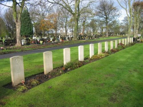 Oorlogsgraven van het Gemenebest Jarrow Cemetery