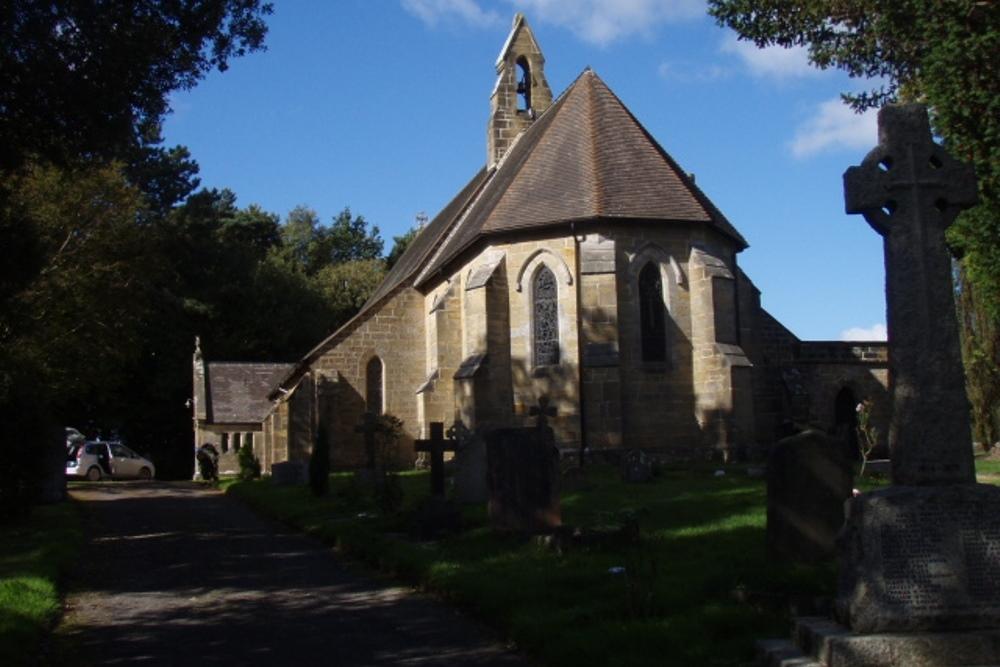 Commonwealth War Graves St. Philip Churchyard