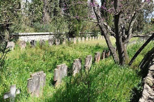Greek War Cemetery Meligalas
