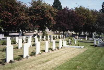 Commonwealth War Graves Haverhill Cemetery
