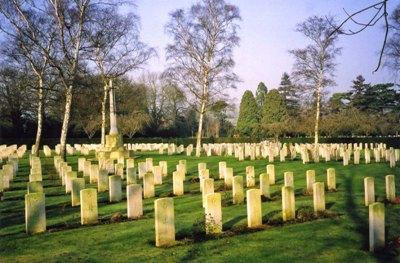 Oorlogsgraven van het Gemenebest Oxford Botley Cemetery